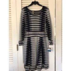 NWT Taylor Long Sleeve Sweater Dress